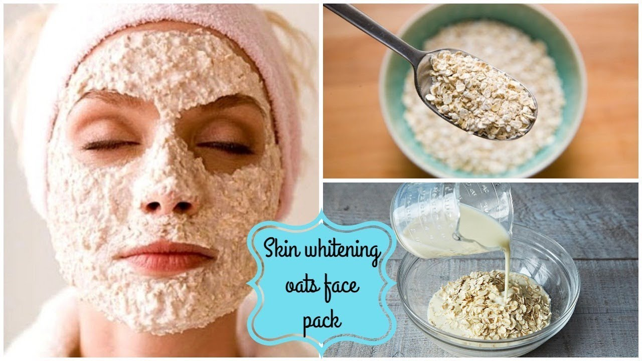 Oats face pack